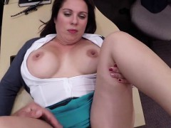 Big butt MILF fucks for cash