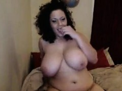 Fat And Busty Cam Slut