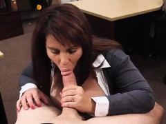Pay rent Before long she was on her knees fellating penis to