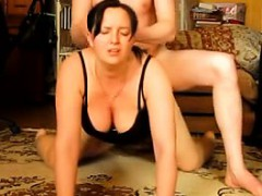 Submissive Wife Gets Assfucked By Her Husband that is Euro