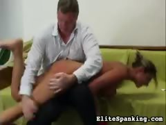 Daria is Naked Spanking
