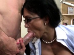 Busty Dentist Loves Anal And Facial From Her Patient