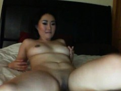 Asian Webcam Girl With Pigtails Spreads Pussy