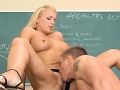 Bit Tits Blonde Fucking Teacher Heidi Mayne