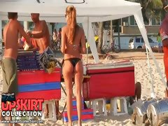 Click here and enjoy the beach bikini video with sexy long