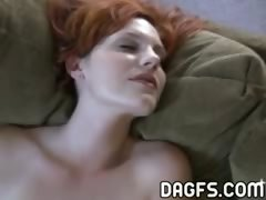 amazing young slut enjoys the virtues of her fetish sex toy