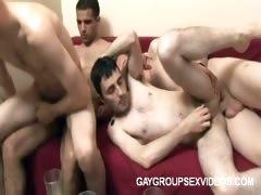 Intense Gay Orgy