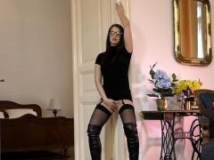 Stockings euro cum spray