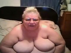 Horny Granny Nurse Toys Herself