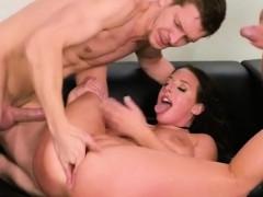 Hot Vixen Angela White Enjoys Double Dicking