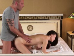 Lovable Cutie Stretches Slim Slit And Gets Devirginized