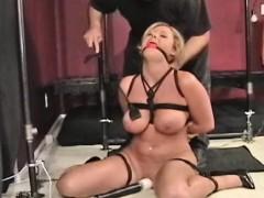 Hot Hardcore Bondage Treatment For Nasty Wanting Slut