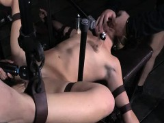 fucked by MACHINE orgasms squirting 1