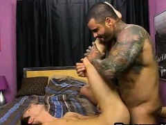 Jacobey London sucks cock and gets fucked anally