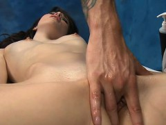 Lovely gal acquires all holes team-fucked