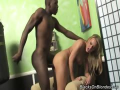 Hot British blonde Holly has a problem. She is visiting LA,