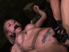 FetishNetwork Marsha May fuck machine bondage slut