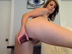 Webcam Girl Dildos Her Pussy Doggystyle To Orgasm