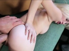 Teenie Piper Perri pussy filled with hot spunk after sex