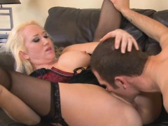 Sweet chick Alana Evans loves a hard cock inside her