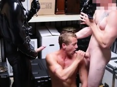 Naked gay shopping Dungeon sir with a gimp