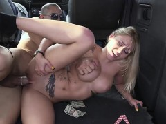 Blonde with nice tits ends up fucked