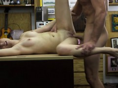 Small size blonde woman gets her pussy fucked by Shawn