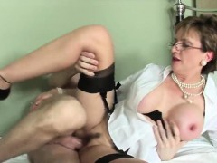 Unfaithful english mature lady sonia pops out her large knoc
