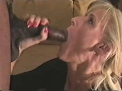 Adult wife overun by cocks