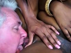 Ebony babes love punishing.