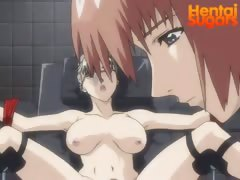 Two hentai girlfriends fuck their new partners