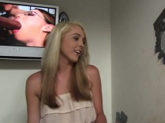 Ashley Stone Gets Facial from BBCs - Gloryhole