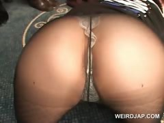 Asian dolls showing their pussies in panties and pantyhose