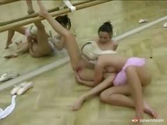 Lesbian Ballet Girls