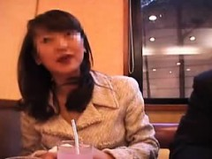 Beautiful Japanese babe gets pumped full of hard meat and f