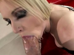 Glamour woman Rossella Visconti analyzed by huge hard cock