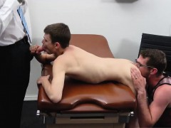 Gay porn casting movieture first time Doctor's Office