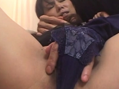 Big titted asian mature gets drilled hard in doggy position