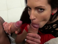 Linda Moretti fucking gigantic penis for pleasure