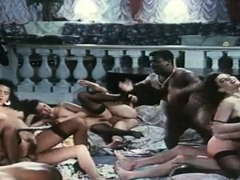 French Vintage Busty Orgy