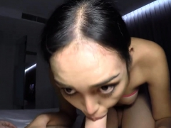 Huge Tits Ladyboy Babe Blowjob And Sex On A Sunday
