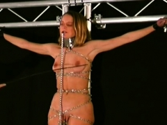 Tit Torture Fetish Play For Tractable Woman