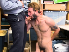 Youngperps - Guard Punishes Shoplifter