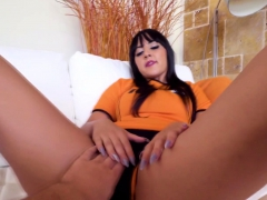 Spanish chick gets fucked deeply in doggystyle