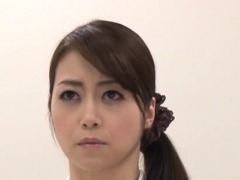 Sexy Ass Japan Nurse Screams With A Large Dick In Her Muff