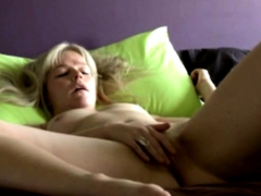 multiple orgasms of a Danish blondie