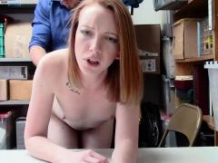Shoplyfter - Lp Officer Fucks Shoplifting Ginger Teen