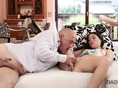 Daddy4k. Dirty Girl Experiences Fantastic Sex On...