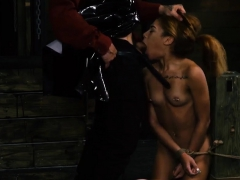 Big tits slave threesome and amateur master rough Sexy youth