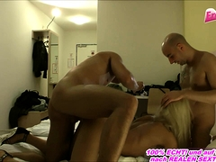 Behind The Scenes Of German Homemade Porn With Blonde Teen